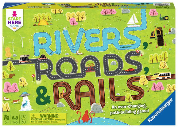 Ravensburger Rivers Roads & Rails