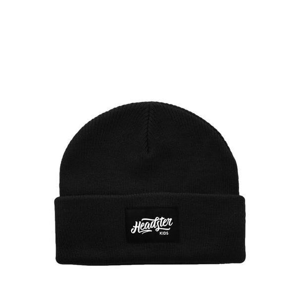 Headster Winter Hat Hipster Black