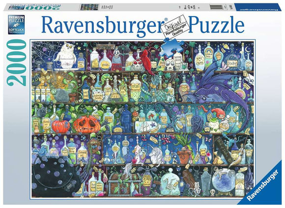 Ravensburger 2000pc (16010) Puzzle Poisons and Potions