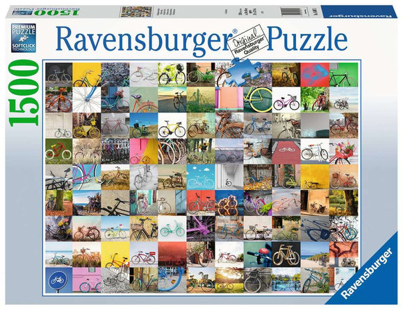 Ravensburger 1500pc (16007) Puzzle 99 Bicycles and More