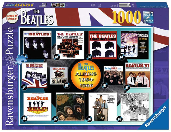 Ravensburger 1000pc Puzzle 19753 Beatles: Albums 1964-1966