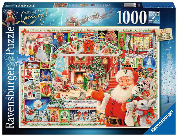 Ravensburger 1000pc (16511) Limited Edition 2020 Christmas is Coming!