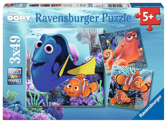 Ravensburger 3x49pc (09345) Puzzle Finding Dory