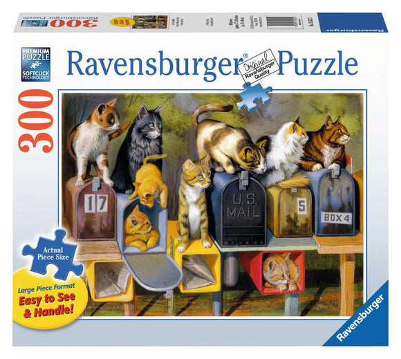 Ravensburger 300pc Large Format Puzzle 13562 Cat's Got Mail