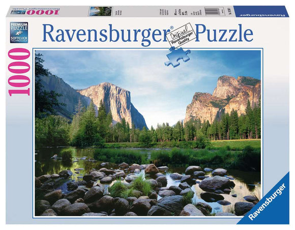 Ravensburger 1000pc Puzzle 19206 Yosemite Valley