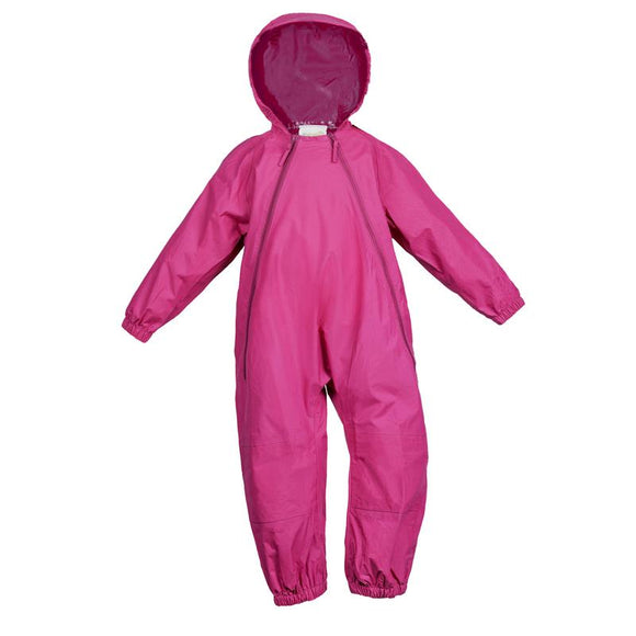 Splashy 1pc Nylon Rain & Mud Suit Pink