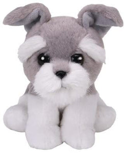 Ty HARPER the Grey/White Dog small 6""