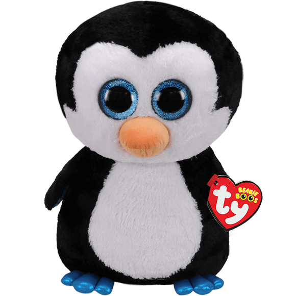 Ty WADDLES the Penguin large 16