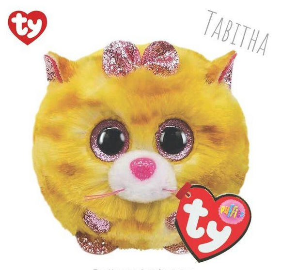 Ty Puffies TABITHA Cat