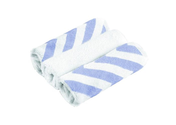Kushies Washcloths 3-Pack Blue