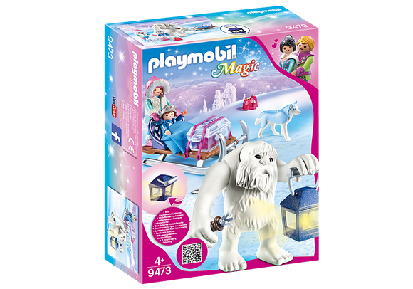 Playmobil 9473 Magic Yeti with Sleigh