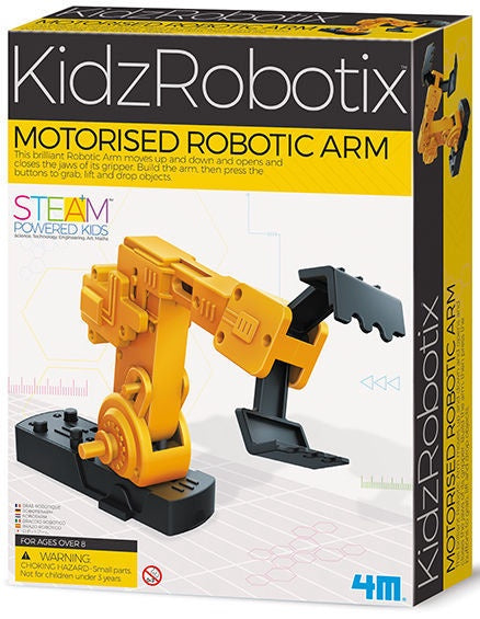 4m 3413 KidzRobotix Motorized Robotic Arm