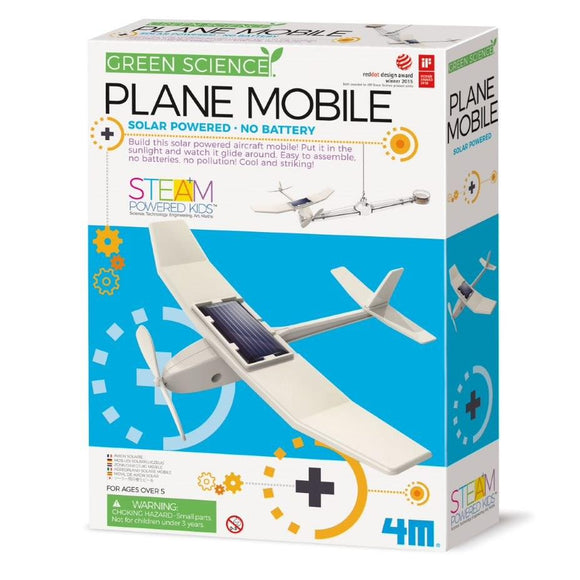 4m 3376 Green Science Solar Plane Mobile