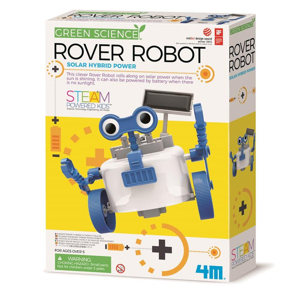 4m 3417 Green Science Rover Robot