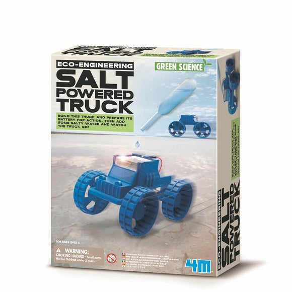 4m 3409 Green Science Salt Powered Truck