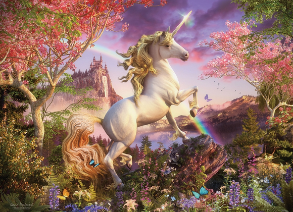 Cobble Hill 350pc Family Puzzle Realm of the Unicorn