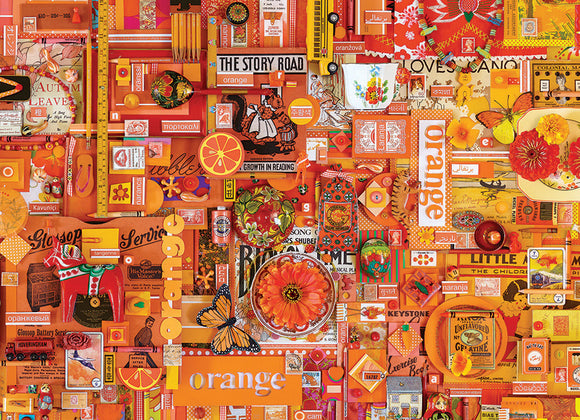 Cobble Hill 1000pc Puzzle 80147 Orange