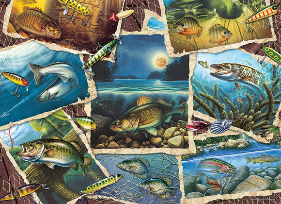 Cobble Hill 1000pc Puzzle 80209 Fish Pics