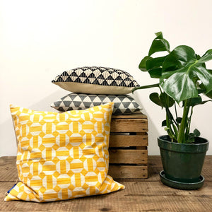 Screen Printed Cushion - Geometric