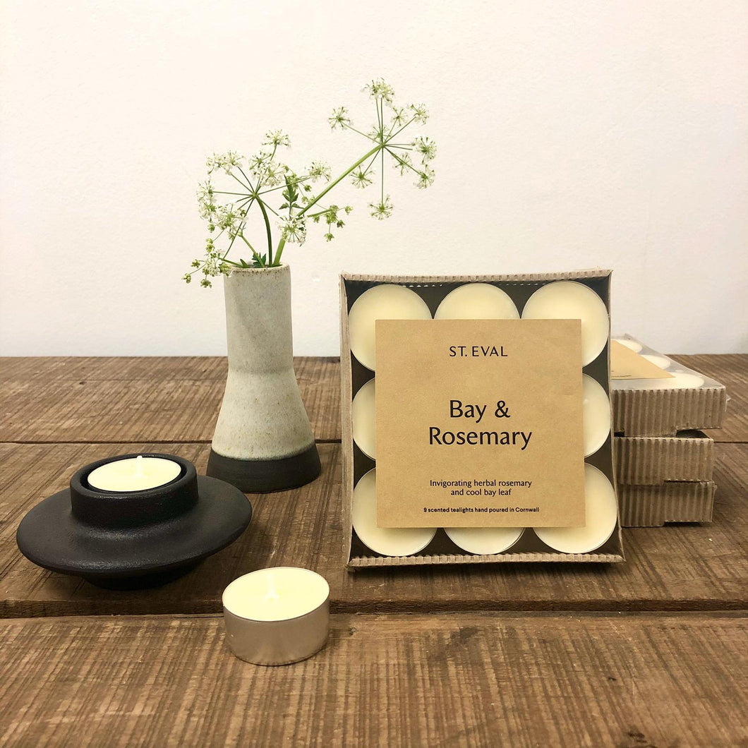 St. Eval - Bay & Rosemary Scented Tealights