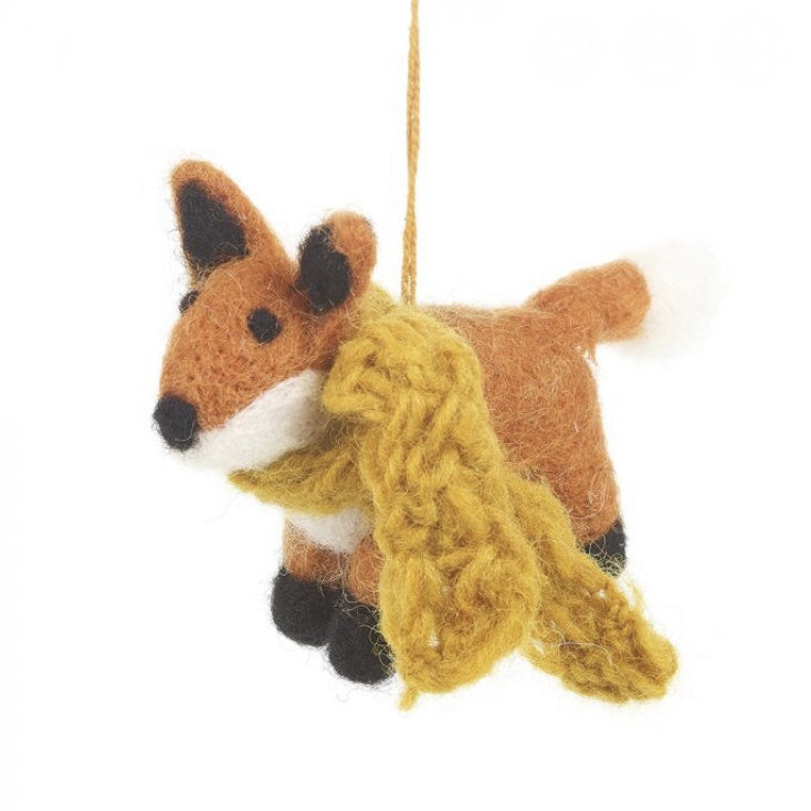 Fabulous Fox - Felt Decoration