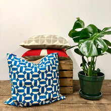 Load image into Gallery viewer, Screen Printed Cushion - Geometric