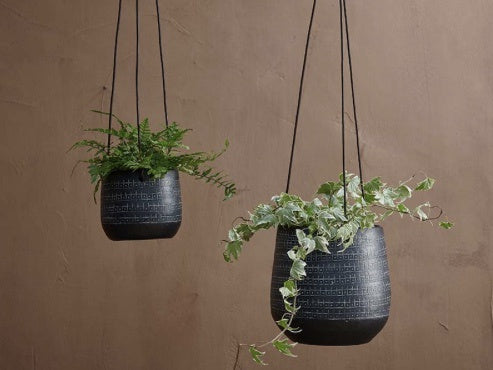 Black Hanging Pot - Large