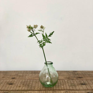 Recycled Glass Vase - Teardrop Shape
