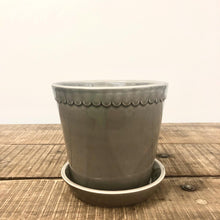 Load image into Gallery viewer, Berg Helena Pot - Glazed Rose & Pearl Grey