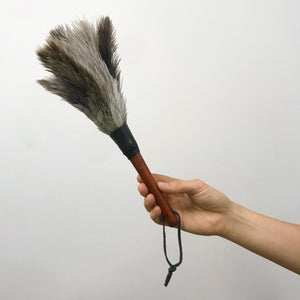 Ostrich Feather Duster - Small 35cm