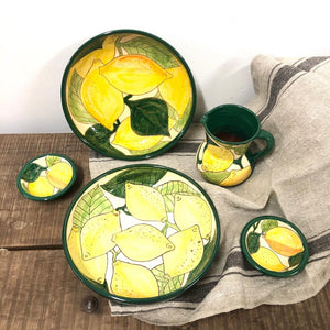 Salad Bowl With Lemons