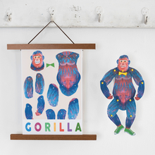 Load image into Gallery viewer, Gorilla cut and make Puppet