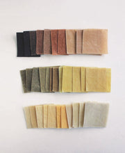 Load image into Gallery viewer, Waxed Linen Wraps - Naturaly Dyed