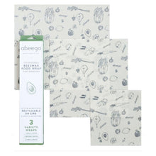 Load image into Gallery viewer, Beeswax Food Wrap - Abeego Mixed Pack