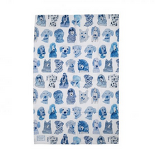 Load image into Gallery viewer, Blue Dogs Tea towel - Arthouse
