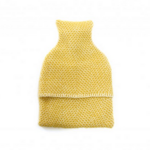 Hot Water Bottle - Sunshine Yellow or Soft Grey