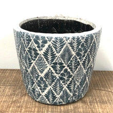 Load image into Gallery viewer, Old Style Dutch Pots - Large - Teal pattern