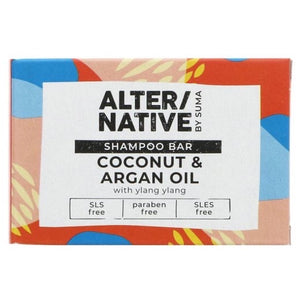 ALTER/NATIVE - Coconut & Argan oil shampoo bar