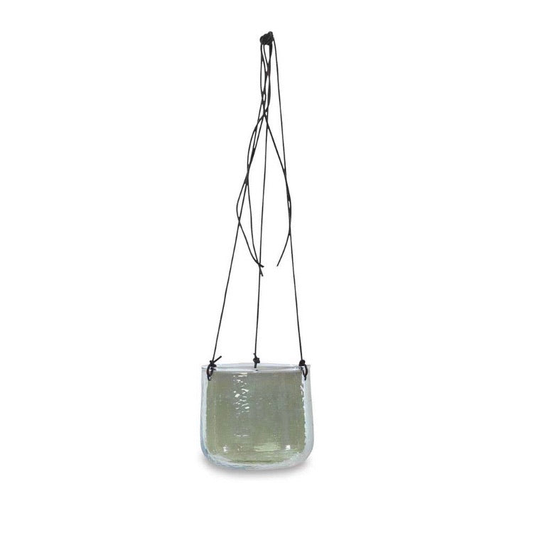 Glass Hanging Pot