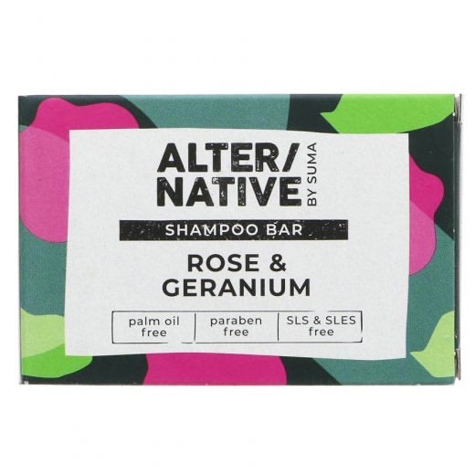 ALTER/NATIVE - Rose & Geranium Shampoo Bar