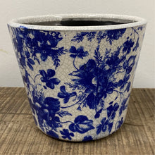 Load image into Gallery viewer, Old Style Dutch Pots - Blue pattern