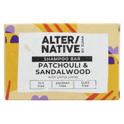 ALTER/NATIVE - Patchouli & Sandalwood Shampoo Bar