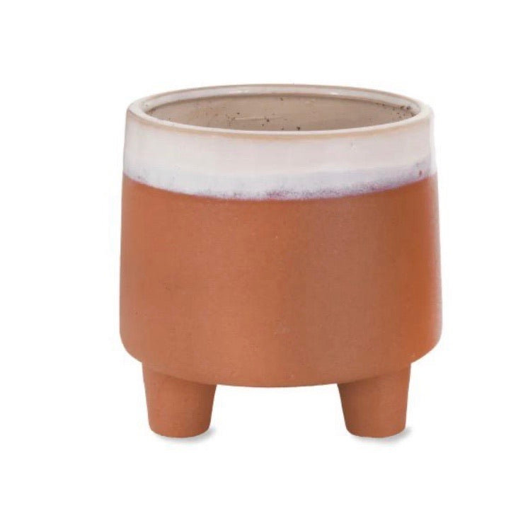 Footed Halston Pot - Small