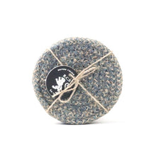 Load image into Gallery viewer, Hand Woven Circular Coasters - Gull Grey