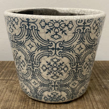 Load image into Gallery viewer, Old Style Dutch Pots - Teal pattern