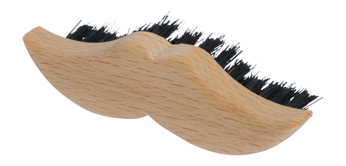 Beard & Moustache Brush