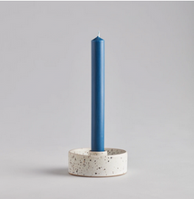 Load image into Gallery viewer, Speckled Ceramic Candle Holder