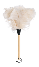 Load image into Gallery viewer, Ostrich Feather Duster - White