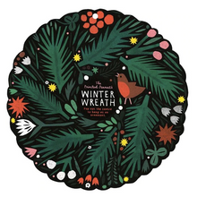 Load image into Gallery viewer, Paper Cut Out Winter Wreath