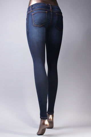 Denim Leggings - The Walk-in Boutique